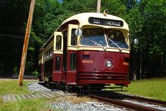 TTC PCC STREETCAR National Capital Trolley Museum (bishop71701) Tags: ttc streetcar pcc trolley washington dc nationalcapital 4603 a15