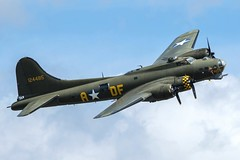 Boeing B-17 Flying Fortress - Sally B (lucaban87) Tags: gbedf boeing b17 4485784 flyingfortress sallyb duxford flyinlegends vintage warbird ww2 wwii spotting spotter canon 7d 7dmkii avgeek avporn aviation aviationphotography aircraft aviationporn