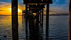 Sun Blocker (Images by Christie ♪♫ Happy Clicks for) Tags: lead pov dslr photography nikon d5200 britishcolumbia bc canada seascape shoreline shore
