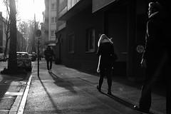 2:45 PM Dsseldorf (Amselchen) Tags: bw mono black city street people dsseldorf germany fuji fujinon fujifilm fujifilmxseries xt2 fujixt2 xf35mmf2rwr bokeh blur dof depthoffield light shadow acros season winter