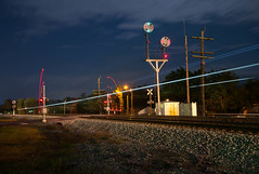 Lights (ajketh) Tags: cpl color position light nw norfolk western southern ns intermodal piggyback railroad freight train crossing signal uss stones mill wytheville va virginia