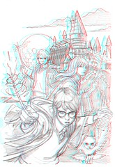 Harry Potter 3D (xmancyclops16) Tags: movie harrypotter anaglyph
