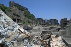 Rocky terrain, Gunkanjima Hashima