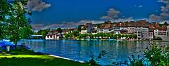 Eglisau_Panorama1-30072015-16'12 (eduard43) Tags: panorama river landscape fluss rhine landschaft rhein 2015 eglisau