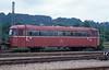 996 260  Tübingen  28.05.94 (w. + h. brutzer) Tags: analog train germany deutschland nikon eisenbahn railway trains db vt tübingen schienenbus 998 eisenbahnen triebwagen triebzug triebzüge webru