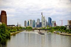 Frankfurt City View (Imagonos) Tags: city panorama river deutschland town nikon ship hessen frankfurt main stadt nikkor schiff frankfurtammain frankfurtmain hochhaus ves d800 rheinmain 2470 flus tagnacht grosstadt imagonos