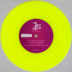 Bangstick - Right Time - Koda - It Comes In the Morning (Leo Reynolds) Tags: xleol30x squaredcircle 45rpm record single colour yellow vinyl platter disc 7inch sqset120 coloured canon eos 40d xx2015xx sqset