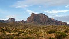 Chisos Basin and Casa Grande - Big Bend National Park