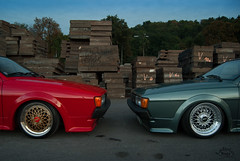 Hard choices (Láďa) Tags: vw prague top low static mk2 dope division rs bbs polished motorsport mkii polis scirocco airride rennsport shovwstation