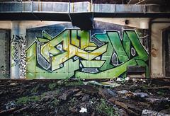 Jem (Nedeism) Tags: abandoned graffiti jem graff gem urbex aom brachs brachsfactory aomafia