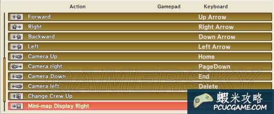 《海賊無雙3》鍵盤按鍵操作一覽 鍵盤怎麼操作