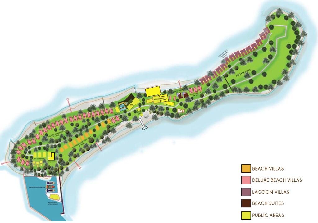 Helengeli Island Resort - Mappa della struttura