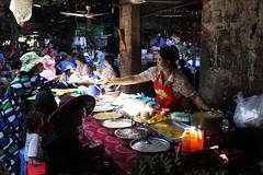 Market  Kampong Chhnang (Jules en Asie) Tags: world street travel woman asian julien women asia cambodge cambodia cambodian khmer market stall asie kampong marché nationalgeographic kompong asiatique reflectionsoflife lovelyphotos jules1405 cambodgien unseenasia earthasia mailler