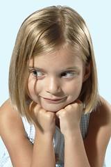 The Grin (G-daddyArt) Tags: girl smile grin reflector alienbees strobist