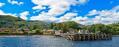 Luss Pier, Loch lomond, Scotland (CamelKW) Tags: scotland lochlomond scottishhighlands lusspier glasgow2015