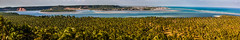 Panorama: Praia do Gunga + Loagoa de Roteiro (Jaim Oliveira) Tags: travel sea brazil panorama tourism praia beach nature beautiful landscape rocks coconut lagoon paisagem cliffs lagoa fazenda helios gunga alagoas roteiro coqueiral 443