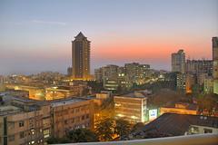 Sunset From My Balcony II (Raj Khosla) Tags: sunset canon horizon mumbai 18200mm mumbaisunset 60d canon60d horizonsunset