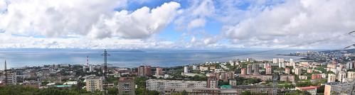 Amur Bay panorama, Vladivostok ©  й›·е¤Є