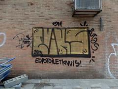 Graffiti (oerendhard1) Tags: urban streetart art graffiti rotterdam toilet vandalism putas eopo knuis