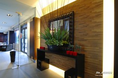 Jin_b02033 (Chen Liang Dao 陳良道 hyperphoto華藝影像網) Tags: 台灣 台灣影像 圖庫 台灣景點 風景攝影 數位攝影 室內裝潢 燈光 光 光線 植物 大廳 建築 空間設計 落地窗 陳良道