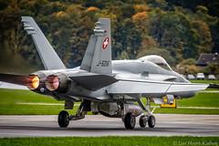 F/A-18 Hornet (larshkj) Tags: switzerland military jets fa18 2015 axalp livefireevent
