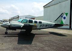 Baron 58, PT-WSA (Antônio A. Huergo de Carvalho) Tags: beechcraft b58 baron58 ptwsa