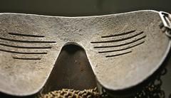 WW1 British Tank Crew, Shrapnel Face Mask (Stuart Curry) Tags: tank mask corps british ww1 splatter relics shrapnel 19141918
