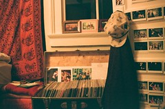 collections (emily_quirk) Tags: family friends records film 35mm bedroom nashville urbanoutfitters neworleans vinyl corona hippie inside tapestry itgirl instax selfie recordcollection instantfilm filmsnotdead jeffthebrotherhood diarrheaplanet emilyquirk