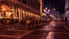 A quiet night on Piazza San Marco