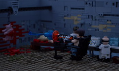 District 9 Weapons Test/ Lego District 9 Group! (Guy Smiley :-)) Tags: lego district nine 9