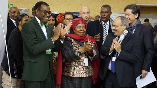 Rwanda's Delegation to Paris Climate Talks