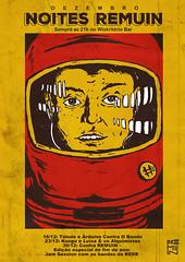 Noites REMUIN - Dezembro (FilipeAnjo) Tags: 2001 illustration marcus kubrick space stanley filipe ilustrao ilustracion noites odissey filipeanjo nataltemusica remuin