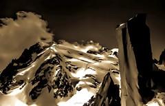 """Mont Blanc du Tacul """"Onirique"""" (Frédéric Fossard) Tags: monochrome montblancdutacul abstrait arêtedescosmiques onirique massifdumontblanc photoartistique triangledutacul grandgendarme"""