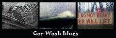 Car Wash Blues (1 - 3) (Padski1945) Tags: carwash soapywindow blur blurredwindow boringjob adifferentpointofview