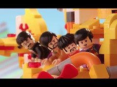 The Beatles LEGO Yellow Submarine vs. the Sea Monster (Download Youtube Videos Online) Tags: the beatles lego yellow submarine vs sea monster