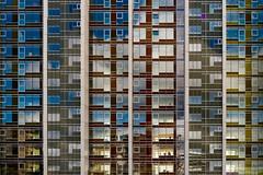 Purple one out (Maerten Prins) Tags: denmark denemarken arhus aarhus modern architecture new windows glass lines edges facade gevel reflection building city urban minimal