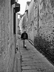 neighborhood pathway (Ket Lim) Tags: shanghai china travels blackandwhite asia trips monochrome nanjing suzhou pudong bund canal xitang hangzhou travel streets