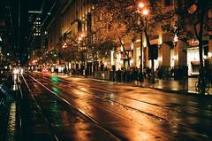 City Nights 2016 05 (marq4porsche) Tags: westfield center market st canon eos 3 ef 50mm 12 l kodak portra 400 film analog 2016 urban light lights downtown street