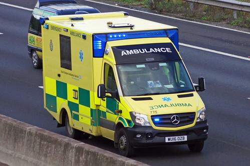 South Western Ambulance Service - WU16 OZB