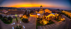 Maronite Church Mulbarton, Johannesburg (Paul Saad) Tags: lebanon maronite church catholic patriarch mulbarton panoramic johannesburg pano panorama southafrica outdoor sunrise sunset colours dawn dusk hdr sky clouds street nikon