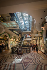 Queen Victoria Building in the Morning (Justy.C) Tags: australia queenvictoriabuilding sydney urbanphotography newsouthwales au