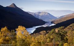 Autumn Splendor (RobGrahamPhotography) Tags: lochleven kinlochleven glencoe papofglencoe mountains loch outdoor highlands scotland britain landscape landscapes canon canon6d autumn fall