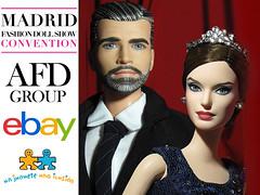 El Rey Felipe VI and La Reina Letizia OOAK Ken & Barbie dolls on Ebay Now. (tovarish_barbie) Tags: afdgroup doll ooak madrid mfdc muneca felipe vi letizia ken el rey la reyna