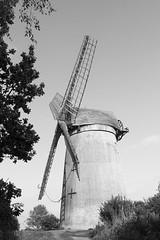 The windmill (N-woods) Tags: bidstonhill bidstonwindmill wirralpeninsula windmill blackandwhite