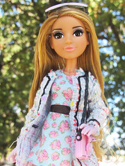 Smart Is The New Cool (PancakeBoss) Tags: project mc2 mga adrienne atoms attoms doll wave 2 hot chanel looks floral outdoors loves it queen vida victoria
