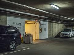 Garage (Van Allen Belt) Tags: olympus ep2 pen 1240mm f28 pro zuiko parking garage