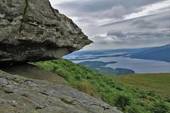 Loch Lomond (ian poole) Tags: highlands scotland ben lomond loch granite mountains walking hiking view sky cloud