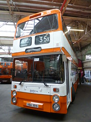 Preserved GMPTE 8151 (VBA151S) 10152016b (Rossendalian2013) Tags: preserved bus manchester gmpte greatermanchesterpte greatermanchestertransport leyland atlantean northerncounties an68a vba151s gmbuses gmbusesnorth greatermanchesterbusesnorthlimited
