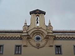 Clock with bells (18th century) in Naples (Carlo Raso) Tags: clock naples italy mariogioffredo