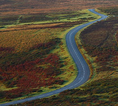 The winding route to nowhere (1) (Robin M Morrison) Tags: road winding dartmoor devon
